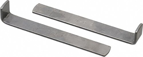 2 Piece Style C Broach Shim, 3/8'' Keyway Width, 1/16'' Shim Thickness 2 Pack by duMont