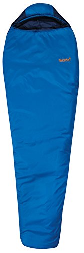 Eureka! Cimarron 15 Degree Mummy Sleeping Bag; Comfortable, Lightweight Four-Season, Thermally Efficient Bag for Camping - Blue - Regular (Eureka Fiber Sleeping Bag)