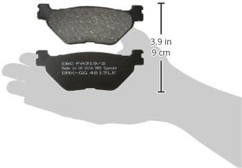 Pad Set EBC Bremsen FA319//2/Bremse