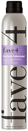 Fave4 Texture Takeover Oomph Enhancing Hairspray 8 oz