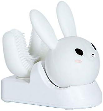 子供のU字型電動歯ブラシ子供の自動口マウント歯ブラシUSB誘導電動歯ブラシを充電,B