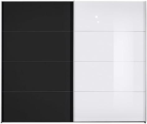 Puerta corredera Kick (cuerpo) colour: negro, colour (delantera ...