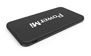Batería Externa Móvil PowerMi Micro USB con Adaptador Type C 5000mAh - Compatible con Samsung Galaxy, iPhone, Xiaomi, Huawei - Cargador externo ultra ...