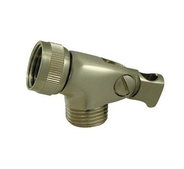 Whitehaus WH172A2 ShowerHaus Brass Swivel Connector, Polished Brass