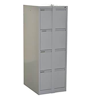 Beau 4 Drawer Filing Cabinet With Locking Bar