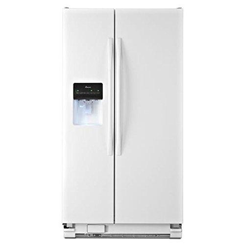 Amana ASD2575BRW White Side Refrigerator