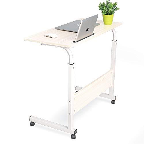 MEI Computer armoires Office Lift Computer Desk, Study Desk, Modern and Simple Home Writing Desk 60X40 Ancient Oak (Color : White, Size : 80×40cm)