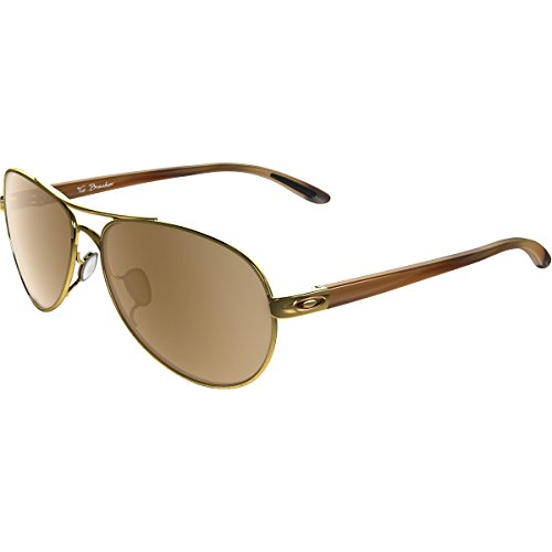 23c5cf9307 Oakley Women s Tie Breaker OO4108-06 Non-Polarized Iridium Aviator  Sunglasses