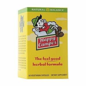 Natural Balance Happy Camper Herbal Formula, Veggie Caps 60 ea - Happy Camper Herbal