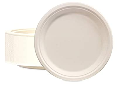 Stock Your Home Bagasse Luncheon Plates