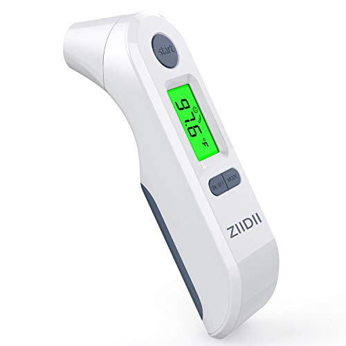 (Ear and Forehead Thermometer, 4 in 1 Digital Medical Baby Body Temporal Thermometer with Forehead Function, Use for Measure Kids and Adults Fever Indicator)