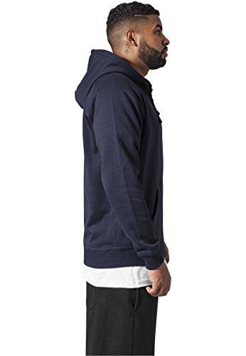 Hoody Classics Sudadera Hombre Urban Navy para Zip q74WT