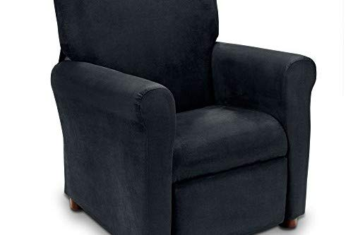 Crew Furniture 649660 Urban Child Recliner Jet (Microsuede Child Recliner Chair)
