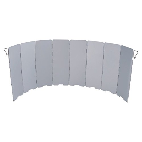 Camp Cooking Tips And Tricks - Use the right camp cooking tools like this AceCamp 1643 Aluminum Stove Windscreen With 8 Panels