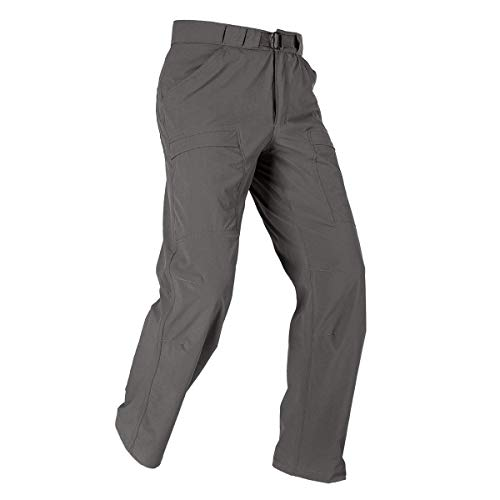 FREE SOLDIER Outdoor Men's Lightweight Waterproof Quick Dry Tactical Pants Nylon Spandex(Gray (Breathable Nylon Pant)