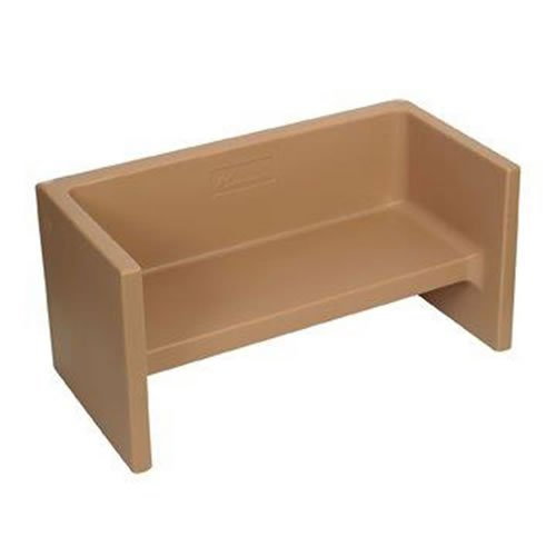 Children's Factory Adapta-Bench in Almond