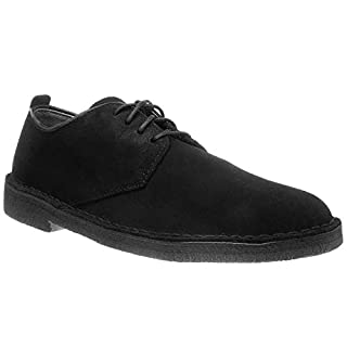 CLARKS Originals Mens Desert London Black Leather Shoes 10 US (B00MY2KPIO) | Amazon price tracker / tracking, Amazon price history charts, Amazon price watches, Amazon price drop alerts