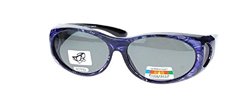 Polarized Sunglasses Fit Over 60 MM Small Oval - - Sunglasses Fit Polarized Over