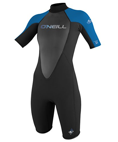 O'Neill Wetsuits Women's Reactor 2 mm Short Sleeve Spring Suit,...