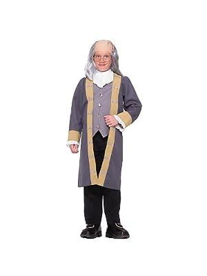 Classic Ben Franklin Boy's Costume | Computers
