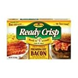 Armour Eckrich 360 Par Regular Round Fully Cooked Sliced Bacon, 1.5 Pound - 4 per case.