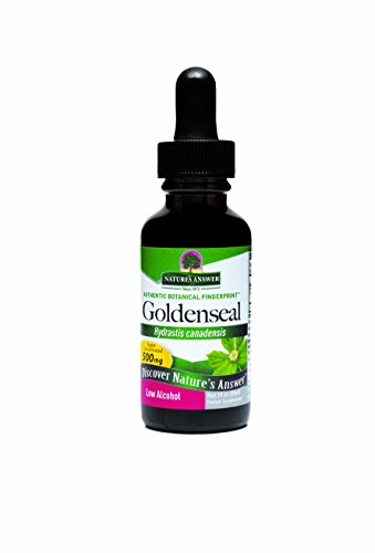 Cheap Nature's Answer Goldenseal Root with Organic Alcohol, 1-Fluid Ounces