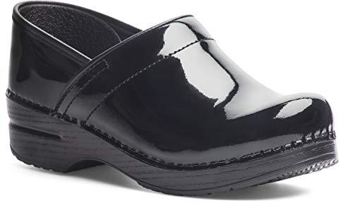Dansko Women's Professional Black Patent Clog 6.5-7 M US (Dansko Women For Shoes)