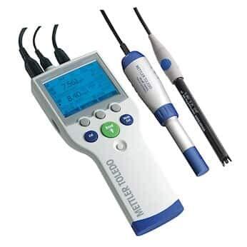 Mettler-Toledo 51302625 SG78-USP/EP – SevenGo Duo pro pH/Ion/Conductivity Meter, USP/EP Kit