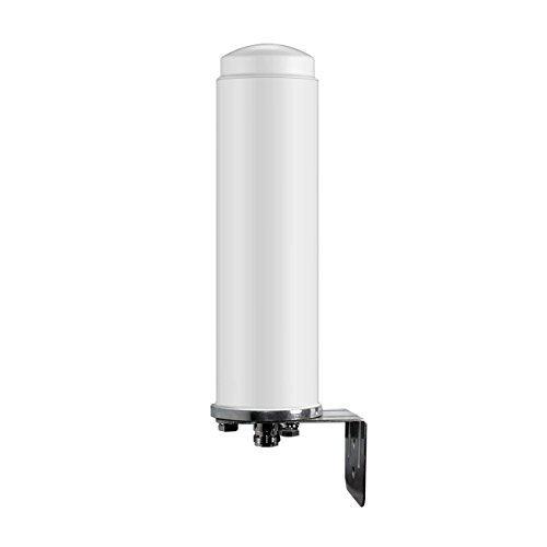 SureCall Wide Band Omni-Directional 50x2126; Outdoor Antenna with N-Female Connector - White