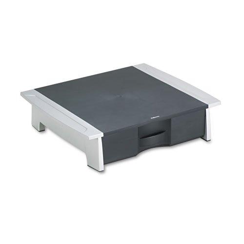 Fellowes - Printer/Fax Machine Stand, 21 1/4 x 18 1/8 x 5 1/4, Black/Silver 8032601 (DMi EA
