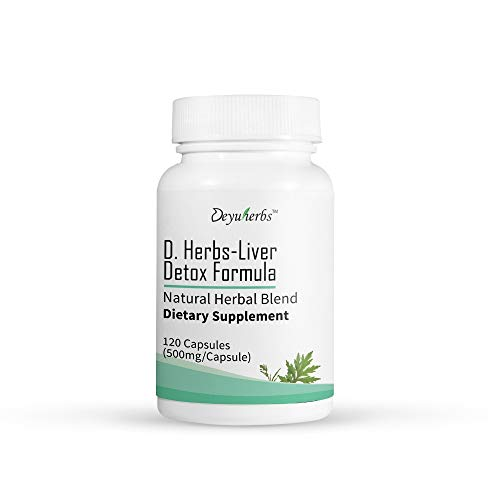 Deyu Herbs - Liver Detox | Natural Detoxification to Support Healthy Liver and Boost Metabolism (30 Servings)