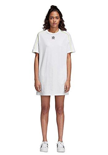 AA 42 adidas Weiß Kleid W RCURwdq