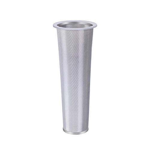 Cheap Craft Connections Co. Stainless Steel Conical Mesh Filter with Silicone Seal – Perfect for Cold Brew Coffee & Tea