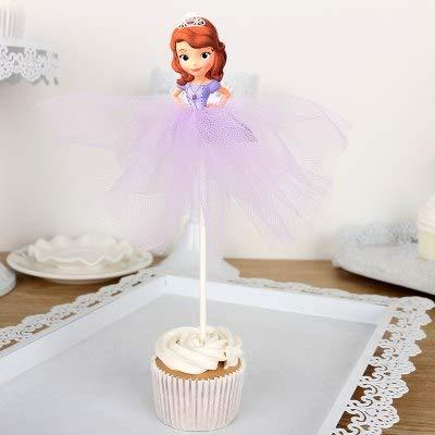 Cupcake Toppers – 1 x princesa granadina falda cupcake ...
