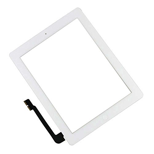 10 Pack - Touch Screen Digitizer for White Apple iPad 3 - A+ w/ Small Parts by Group Vertical