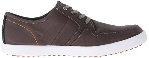 Hush Puppies Heren Hanston Roadside Leather Sneaker Taupe Leather