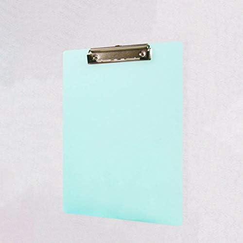 Keppels meistverkaufter Ordner A4 transparent Farbe Menü Klemmbrett Schreibblock Solid Color L GR