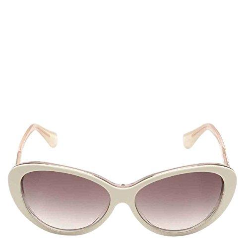 Balenciaga Acetate Ivory Sunglaasses BA0005-24F