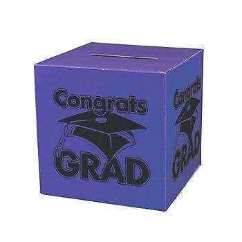 Congrats Grad Purple Card Box