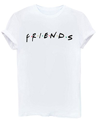 Lookface Women's Cute T Shirt Junior Tops Teen Girls Graphic Tees White Medium (Juniors White Graphic)