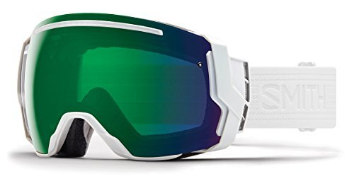 263c30dd929 Smith Optics Adult I O 7 Snowmobile Goggles Whiteout   ChromaPop Everyday  Green Mirror by
