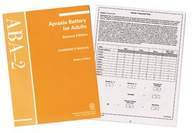 Aba-2: apraxia battery for adults-second edition | brijan resources.