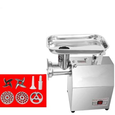 Tool Wing Pallet (850W Multifunctional electric meat grinder, table stainless steel meat chopper High Power meat mincer for shredding Meat Beef Sausage Chicken bone Fish Garlic Chili (220V, All steel fuselage))
