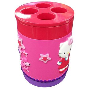 1 X Hello Kitty Toothbrush Holder