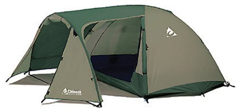 Chinook Whirlwind Guide 5-Person Fiberglass Pole Tent, Outdoor Stuffs