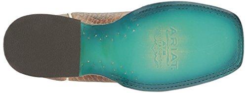 Turquoise Elephant B Misty Cowboy Turquoise 10 Western Vaquera Womens Print US Print Ariat Elephant Misty Boot wxgORTq0