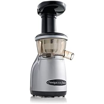 Omega Slow Juicer Vrt350 : Amazon.com: Omega vRT350 Heavy Duty Dual-Stage vertical Single Auger Low Speed Juicer Silver ...