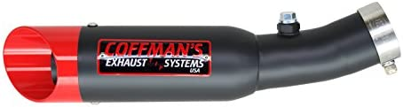 Coffmans Shorty Exhaust for Honda CBR 600 CBR600 F4I 2001-2006 Sportbike with Polished Tip