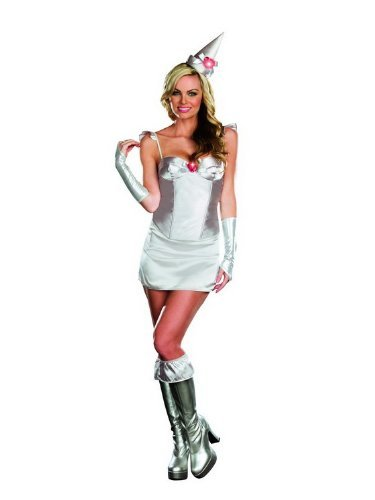 Gauntlets Silver Costume (Totally Tin Woman Adult Costume -)