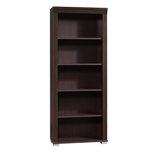 Sauder Office Furniture Town Bookcase In Jamocha Wood